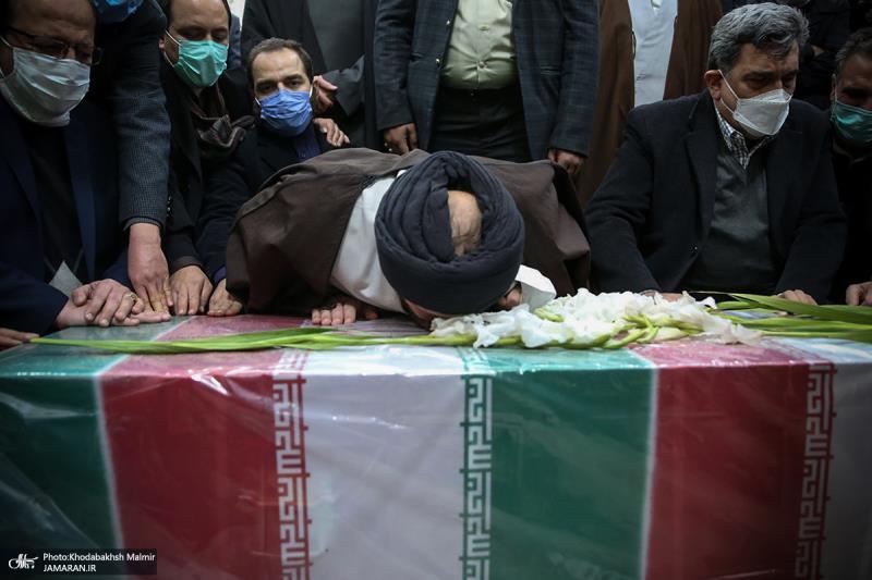 امام خمینی کے حرم میں ایران کے سینئر ایٹمی سائنسداں محسن فخری زادہ کا تشییع جنازہ ہوا