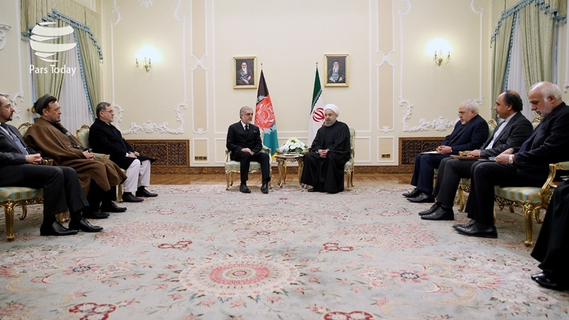 افغانستان میں امن و استحکام ایران کے لیے بہت اہم ہے: صدر روحانی