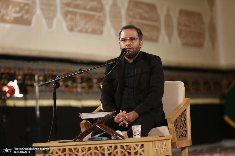 حرم امام خمینی (رح) میں تاسوعائے حسینی (ع) کی رات کی تقریب /2020