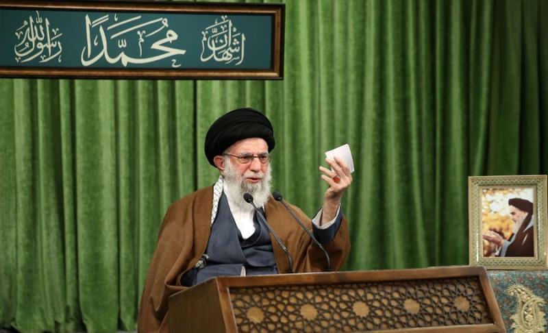 امریکہ موجودہ دور کا فرعون ہے: رہبر انقلاب اسلامی