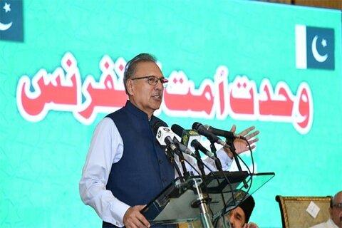 ایک دوسرے کو کافر قرار دینے کے طرزِ عمل سے گریز کرنا ہوگا، صدر مملکت پاکستان