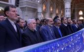 عشرہ فجر کے موقع پر، نیشنل میڈیا کے جنرل ڈائریکٹر، مینیجرز اور کارکنوں کی حرم امام خمینی (رح) میں حاضری اور ان کی تمناؤں سے تجدید عہد /2020