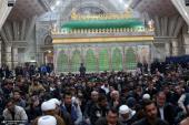 حضرت زہرا (س) کی شہادت کی مناسبت سے حرم امام خمینی(رح) میں مجلس عزا منعقد