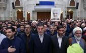 عشرہ فجر کے موقع پر، خاتم الانبیاء دفاعی بیس کے کمانڈرز کی حرم امام خمینی (رح) میں حاضری اور ان کی تمناؤں سے تجدید عہد /2020