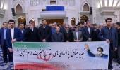 عشرہ فجر کے موقع پر، ایرانی آڈٹ عدالت کے ڈائریکٹرز کی حرم امام خمینی (رح) میں حاضری اور ان کی تمناؤں سے تجدید عہد  /2020