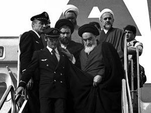 ایران میں امام خمینی(رح) کا استقبال