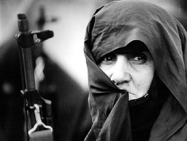 ایرانی خواتین کی مجاہدت