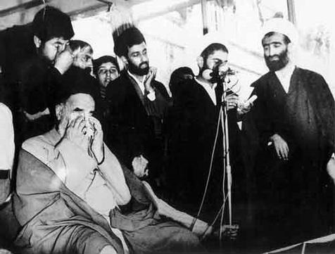 شہید مطہری کی مجلس ترحیم میں امام خمینی(رح) کیوں روے