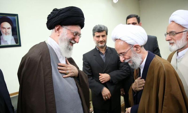 رہبر معظم انقلاب کا آیت اللہ مصباح یزدی کی وفات پر تعزیتی پیغام