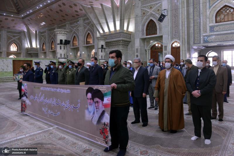 حرم امام خمینی (رح) میں قرآنی سوسائٹی کے اراکین کی حاضری اور ان کی تمناؤں سے تجدید عہد / 2021