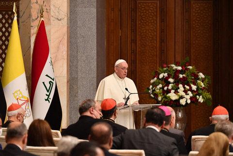 ہمارا دین ہمیں صلح و آشتی اور مل جل کر رہنے کی دعوت دیتا ہے، پاپ فرانسس