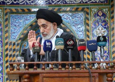 نئی امریکی حکومت ٹرمپ کو عراق کے حوالے کرے، امام جمعہ نجف اشرف