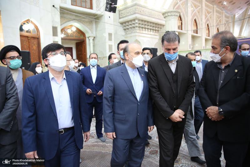 امام خمینی (رح) کی برسی کے موقع پر؛ کھیل اور یوتھ کے وزیر اور ساتھیوں کی حرم امام خمینی (رح) میں حاضری اور ان کی تمناؤں سے تجدید عہد/ 2021ء