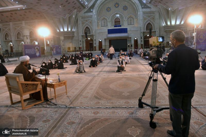 امام خمینی (رح) کی برسی کے موقع پر؛ حرم امام خمینی (رح) میں دعائے ندبہ کی تقریب /2021ء