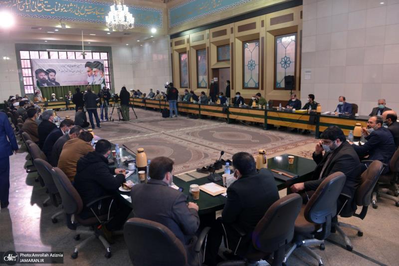حرم امام خمینی (رح) میں اسلامی تبلیغ کی رابطہ کونسل کے اراکین کی حاضری اور ان کی تمناؤں سے تجدید عہد / 2021