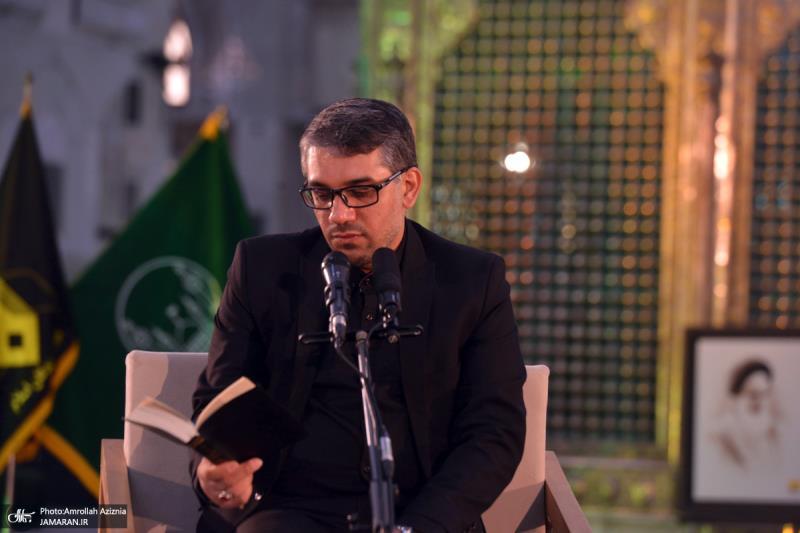 حرم امام خمینی (رح) میں حضرت زہراء(س) کی شہادت کی مناسبت میں عزاداری کی تقریب کی تصویری جھلکیاں/ 2021