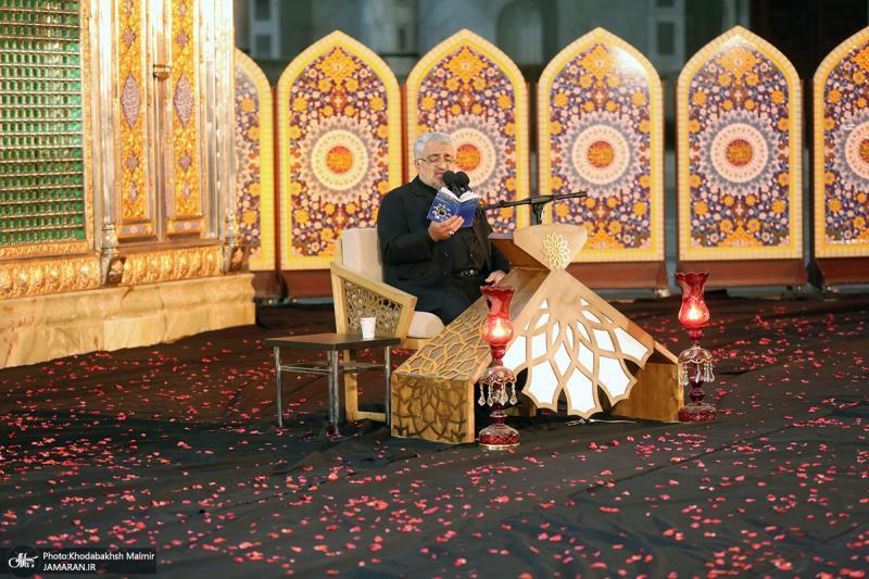 امام خمینی (رح) کی حرم میں شب قدر کی دوسری رات کی تقریب کی تصویری جھلکیاں/2021ء