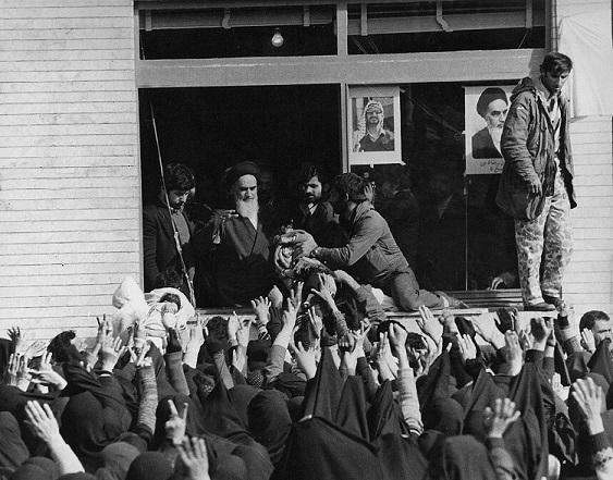 نجف میں امام خمینی (رح) سے ملاقات