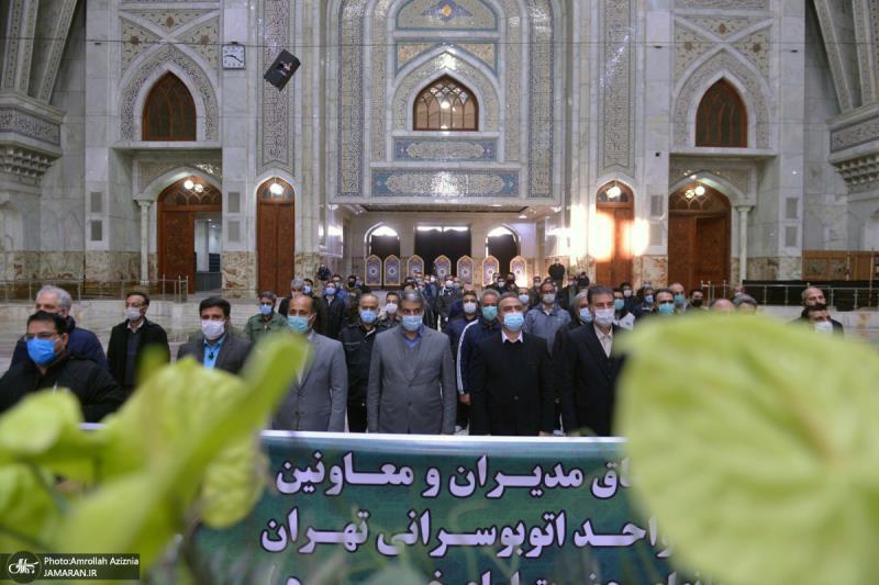 عشره فجر کے موقع پر؛ عوام کے مختلف طبقات سے وابستہ افراد کی حرم امام خمینی (رح) میں حاضری اور ان کی تمناؤں سے تجدید عہد-1 /2021ء