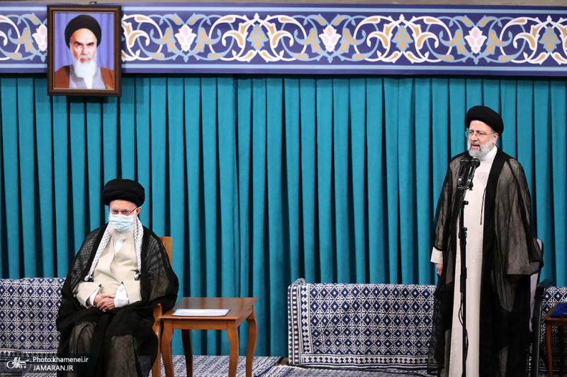 ایران کے 13 ویں صدر آیت الله سید ابراہیم رئیسی کی تقرری کی تقریب