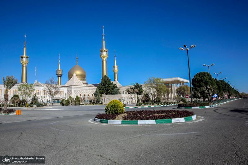 حرم امام خمینی (رح) میں موسم بہار /2021ء