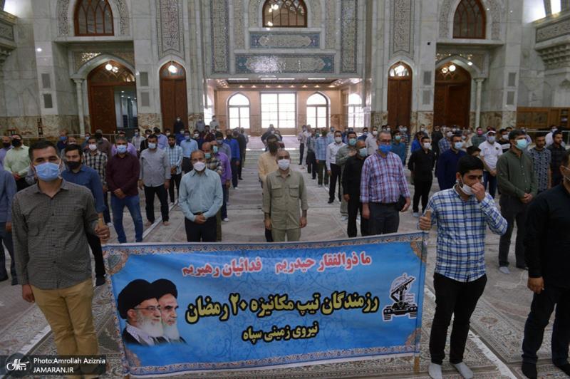 امام خمینی (رح) کی برسی کے موقع پر؛ عوام کے مختلف طبقات سے وابستہ افراد کی حرم امام خمینی (رح) میں حاضری اور ان کی تمناؤں سے تجدید عہد-3 /2021ء