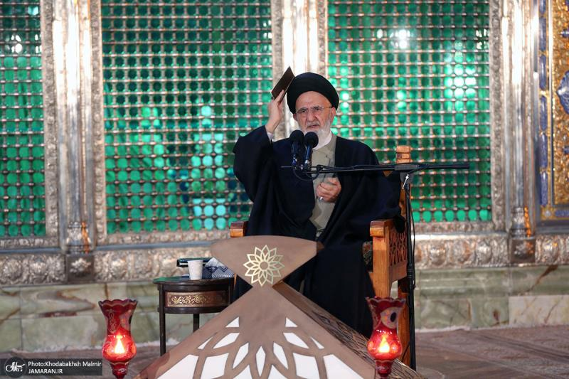 امام خمینی کے حرم میں شب قدر کی پہلی رات بڑی عقیدت سے منائی گئی