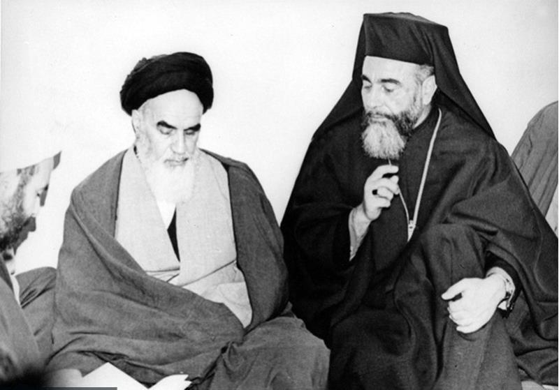 رہبر کبیر انقلاب اسلامی کی اسقف ہلیرین اور ان کے ہمراہ وفد سے ملاقات