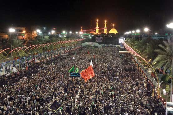 چہلم سید الشہداءظلم و ستم اور امریکی اسلام کا مقابلہ کرنے کا ذریعہ ہے:امام خمینی