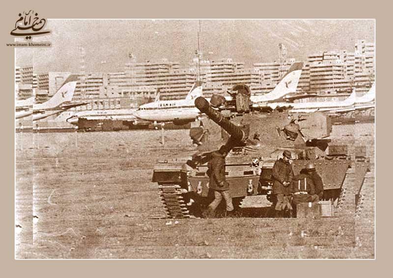 تہران کے مہر آباد ائیر پورٹ کا فوج نے محاصرہ کر لیا