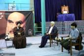 اعتماد اخبار بورڈ اور ممبران نے آیت اللہ سید حسن خمینی سے ملاقات کی