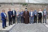 نیشنل ٹرسٹ پارٹی کی مرکزی کونسل کے سکریٹری جنرل اور ممبران نے ایت اللہ سید حسن خمینی سے ملاقات
