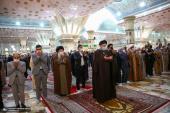 حرم امام خمینی (رح) میں ایرانی نئے سال کی تقریب /2021ء