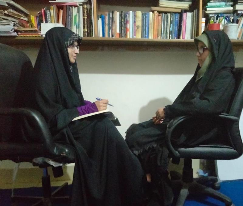 خواتین مردوں کے شانہ بہ شانہ اسلام کی ترقی اور قرآن کریم کے مقاصد کی تکمیل کے لیے سرگرم عمل ہیں