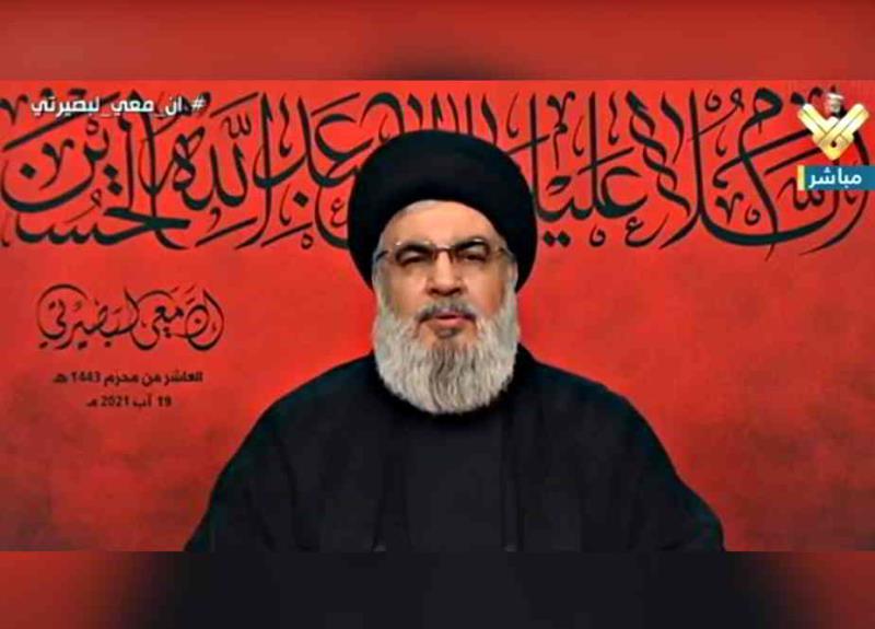 شہید قاسم سلیمانی کا قلم شدہ بازو گواہ ہے کہ ایران اپنے دوستوں کو اکیلا نہیں چھوڑتا، سید حسن نصراللہ