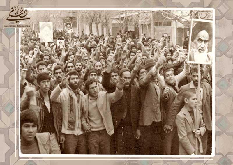 ایران امام خمینی(رح)  کا منتظر ہے