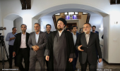 Seyyed Hassan Khomeini visits ECI cultural institute